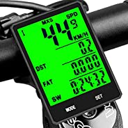 SY Bicycle Speedometer and Odometer Wireless Waterproof Cycle Bike Computer with LCD Display & Multi-Funct