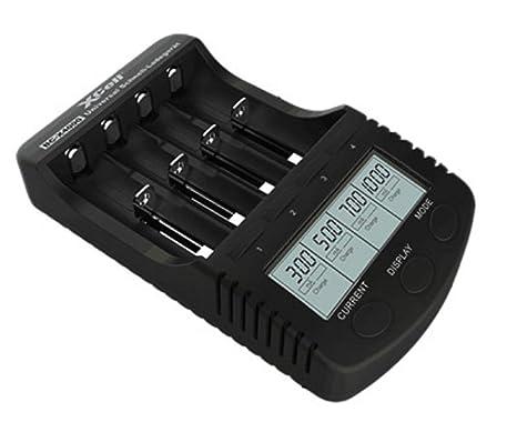 Cargador rápido BC-X4000 con Pantalla LCD, Cargador ...