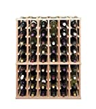 Half-Height Column Style Wine Rack (Redwood with Classic Stain)