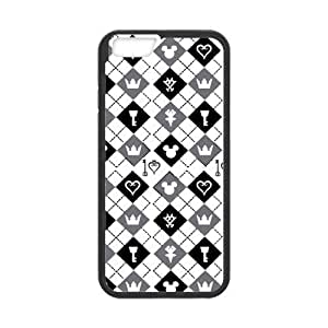 Classic Style Custom Silicone Hard Rubber Protector Case for iPhone6(4.7inch) - Kingdom Hearts