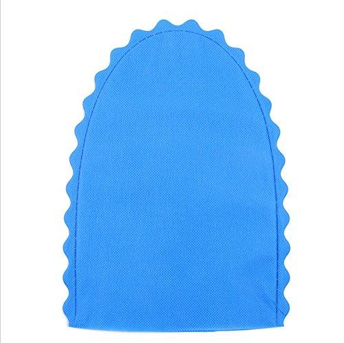 tfxwerws 1Paar Antistatisches Multifunktional Reinigung Handschuhe einreißbar Mikrowelle Handschuhe (blau)