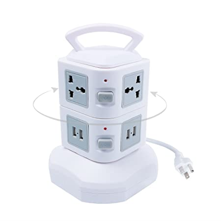 Review Power Strip Tower -