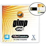 GIMP Photo Editor 2021 USB Premium Professional Image Editing Software Compatible with Adobe Photoshop CC CS6 CS5 15…