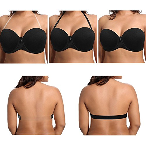 a59c038a35 General Women s Underwire Push Up Strapless Bra Lightly Padded For Wedding
