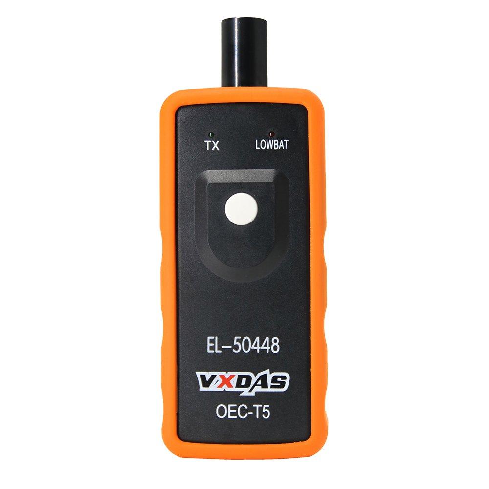 VXDAS EL-50448 Auto Tire Pressure Monitor Sensor TPMS Relearn Reset Activation Tool OEC-T5 for GM Series Vehicle by VXDAS (Image #7)