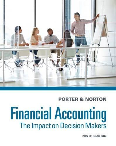 Financial Accounting: The Impact on Decision Makers by Gary A. Porter (2014-01-01)
