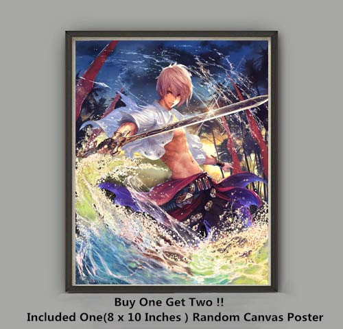 Giclee Art Matte (QG Art Shadow of Frontier Video Game Giclee Art Prints Wallpaper Poster,Not Included Frame)