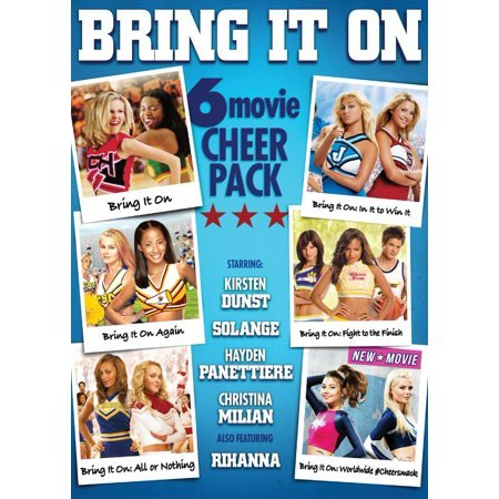 Bring It On: 6-Movie Cheer Pack (Bring It On / Bring It On Again / All or Nothing / In It to Win It / Fright to the Finish / Worldwide #Cheersmack) (Ashley Set Box Turner)