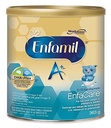 Enfamil A+ EnfaCare Infant Formula, Powder, 363g Mead Johnson & Company CA