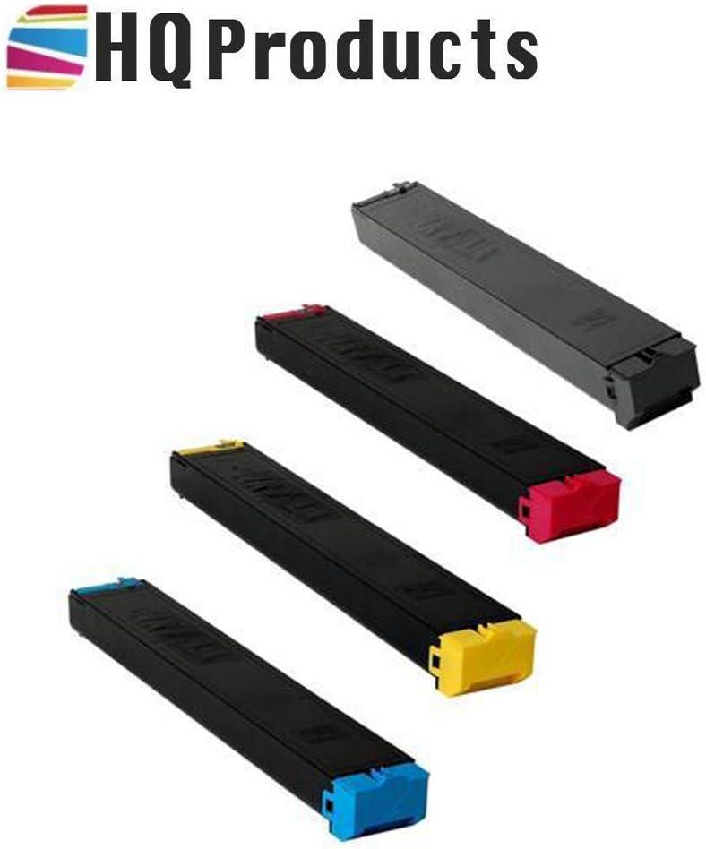 MX-36NTCA MX-36NTYA Copier Toner Cartridge. MX-36NTMA HQ Products Premium Compatible Replacement for Sharp 4Pk Color Set MX-36NTBA Bk, C, Y, M