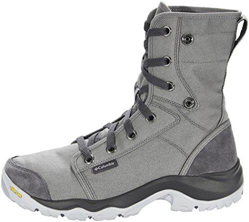 Columbia Camden, Stivali da Escursionismo Alti Uomo Grigio (Titanium Mhw Columbia Grey 049)