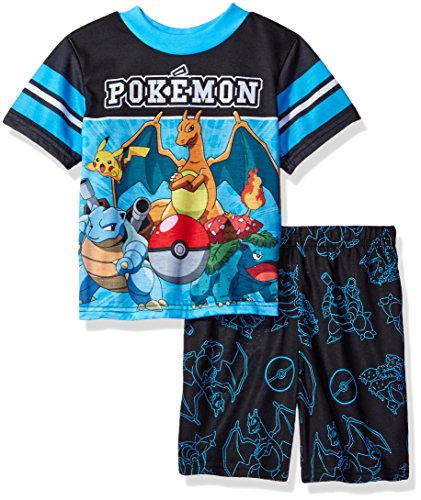 Pokemon Boys' Pokemon 2-Piece Pajama Set Photo