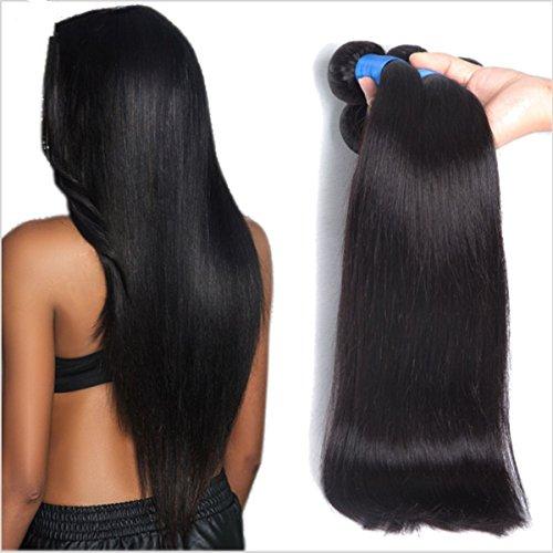 Vedar Beauty Remy Human Hair 100% Malaysian Straight Virgin Hair 3Pcs/Lot Size:10inch 12inch 14inch