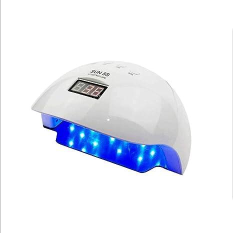 XMGJ Secadores de uñas Secador de Clavos Lámpara de Clavos Luz Solar Máquina de fototerapia Inteligente