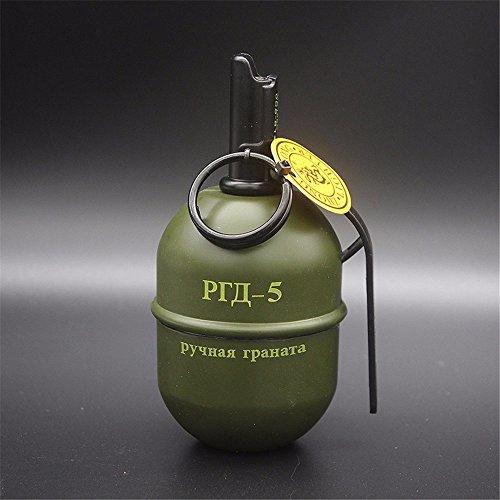 LOSTRYY Military Style Grenade Ashtray Model Ashtray Army Green Ashtray