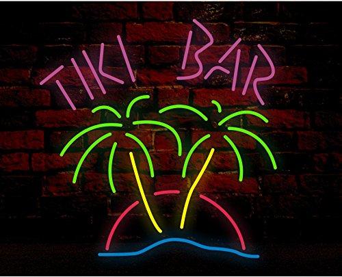 Tiki bar handcrafted glass tube neon sign metal frame 24winsx20h tiki bar handcrafted glass tube neon sign metal frame 24winsx20h aloadofball Image collections