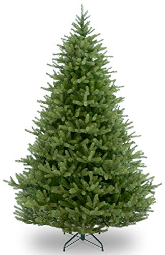 "7.5 Foot ""Feel Real"" Norway Spruce Tree, Hinged () - National Tree PENF1-500-75"