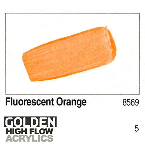 Golden High Flow 1Oz Fluorescent Orange