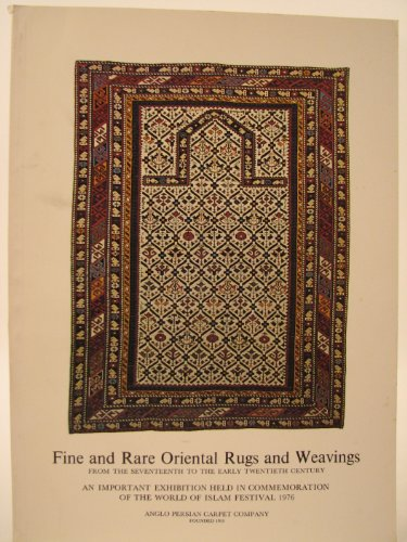 Fine and Rare Oriental Rugs and Weavings from the Seventeenth to Early Twentieth Century 17th Century Persian Rug