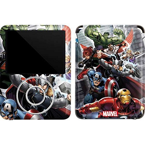 Marvel Avengers iPod Nano (3rd Gen) 4GB&8GB Skin - Avengers Team Power Up Vinyl Decal Skin For Your iPod Nano (3rd Gen) 4GB&8GB by Skinit