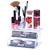Lavish Home 82-SF1065 Jewelry and Cosmetic Organizer Two Piece Set
