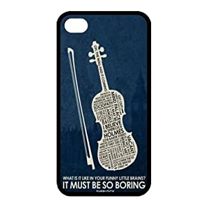Customize TV Series Shelock Holme Back Case for iphone 4 4S JN4S-1863