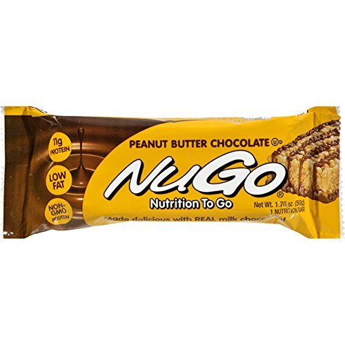 Nugo Nutrition - Nugo Nutrition Bar - Peanut Butter Chocolate - Case of 15 - 1.76 oz by NuGo