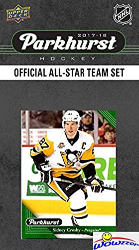 2017/18 Upper Deck Parkhurst NHL Hockey EXCLUSIVE All STAR Limited Edition Factory Sealed 10 Card Set including Connor McDavid, Sidney Crosby, Auston Matthews, Patrick Kane & Top Stars! WOWZZER!