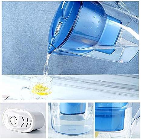 DEJA 3,5 litros del Filtro de Agua de la Jarra W/Purificación de Mayor duración del Filtro de Agua avanzado - 4 Heavy Duty Filtro Oficina de Cocina portátil: Amazon.es: Hogar