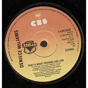 Deniece Williams That 39 S What Friends Are For Amazon