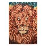 Empire Art Direct Wild Africa 2 2, Medium, Brown