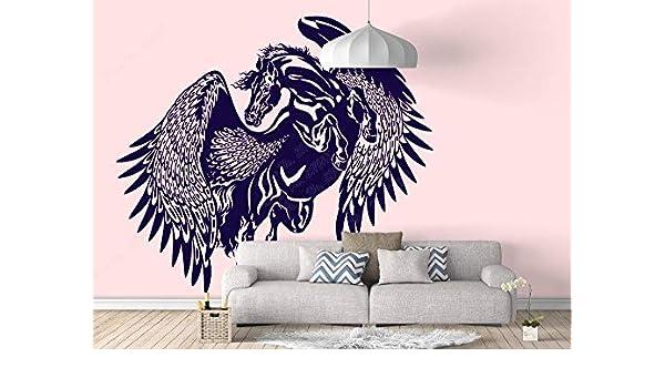 yiyitop Pegasus Mythological Winged Horse Zeus Sticker Greece Colt ...