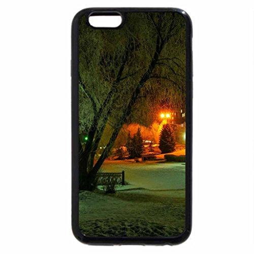 iPhone 6S / iPhone 6 Case (Black) PARK at NIGHT