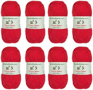 20 Skein SMC Catania Originals Yarn 100/% Cotton // 136 Yrds Assorted Colors Yarn Version 2 125m Total 35.2 Oz Each 1.76 Oz 50g Fine-Sport 2