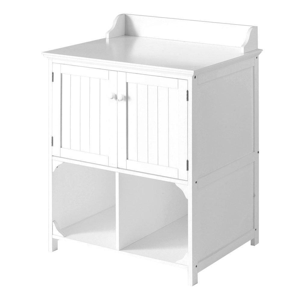 extra large white wood bathroom cabinet floor door wall amazoncouk kitchen u0026 home