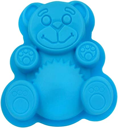 Ibili 871600 Moule forme de petit ours 100/% silicone 24x24x5,5 cm