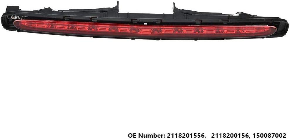 Evgatsauto LED 3rd Brake Light fit for Mercedes-Benz E-Class E320 E350 E55 2118201556 Reverse Lamp High Mount Tail Light Smoke Lens Waterproof