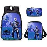 Fortnite game Fortress Night combination backpack leisure School bag waterproof Student Backpack