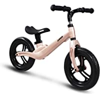 """COEWSKE 12"""" Balance Bike Alliage de magnésium sans pédale Vélo d'entraînement d'équilibre pour Enfants et Tout-Petits de 2 à 4 Ans"""
