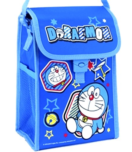 Doraemon Insulated Cooler Lunch Box Tote Bag with Aluminium Foil ()