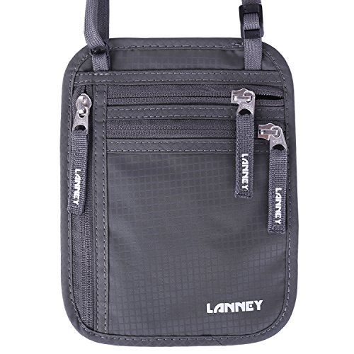 LANNEY Travel Blocking Passport Pouch Anti Theft product image