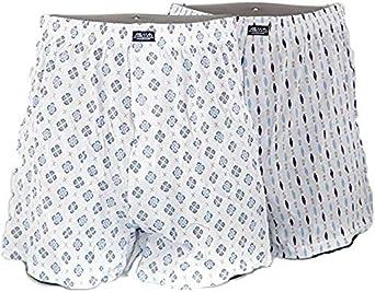 Asman- Boxer Hombre Algodon 100% - Pack 2 Unidades- Danielstore (L): Amazon.es: Ropa y accesorios