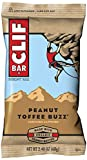 CLIF BAR - Energy Bar - Peanut Toffee Buzz - (2.4 Ounce Protein Bar, 12 Count)