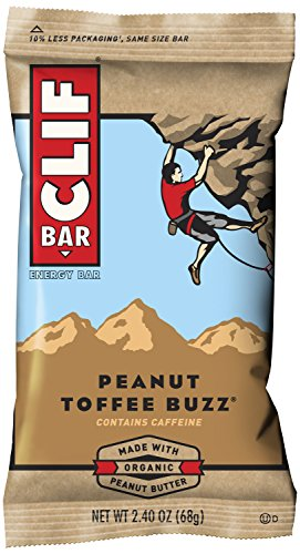 CLIF BAR - Energy Bar - Peanut Toffee Buzz - (2.4 Ounce Protein Bar, 12 - Butter Antioxidant Therapy
