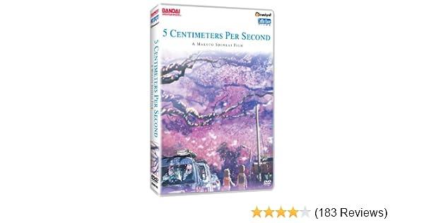 Amazon Com 5 Centimeters Per Second 5 Centimeters Per Second Movies Tv