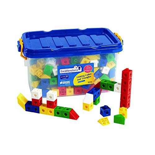 (Excellerations Construction Toys, STEM Building Toys, Blocks, 3/4