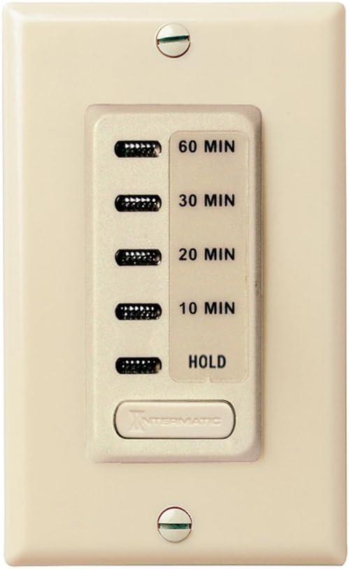 Intermatic EI210LA Auto Shut off Timer Almond 1//4 HP for sale online