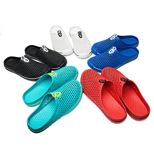 Men Shoes Out Garden Mesh Flop Hole Indoor Slippers Hollow Sandals Unisex Lightweight Beach Women Shoes Sports Black Summer Dry Clog Flip Slip Sandals Outdoor Quick Breathable On Casual BIGU Net w8ZgWA6qq
