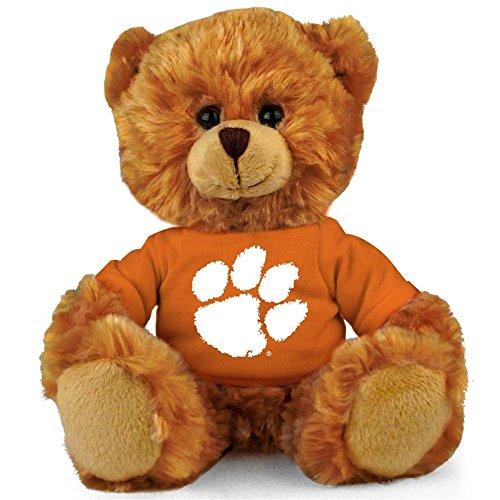 """Clemson Tigers NCAA 8"""" Plush Teddy Bear"""