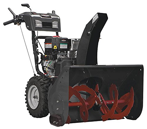 Briggs and Stratton 1696563 Dual-Stage Snow Thrower with 306cc Engine and Electric Start by Briggs & Stratton